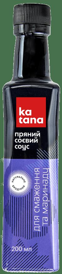 пряный соевый соус katana