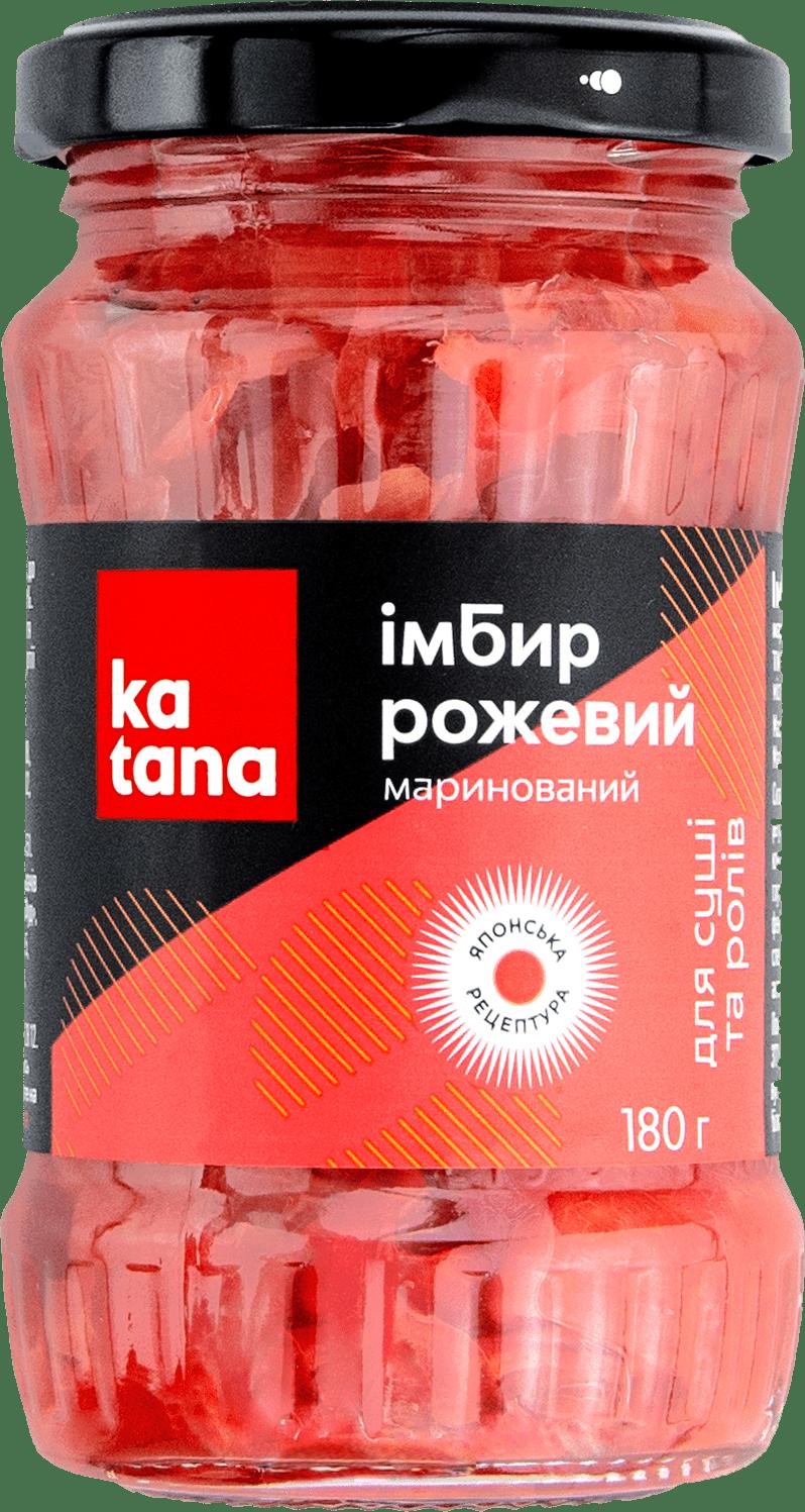 розовый имбирь 180 katana