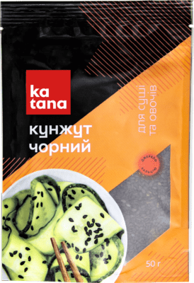 черный кунжут katana