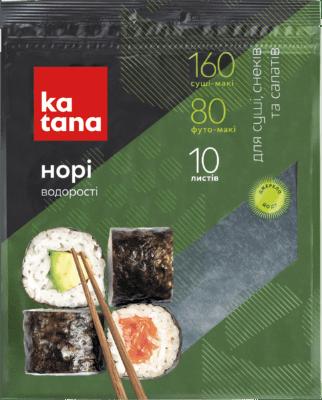 водоросли нори katana 10 листов