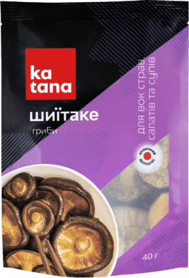 грибы шиитаке katana