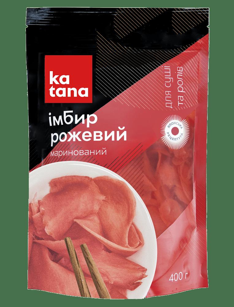 розовый имбирь 400 katana