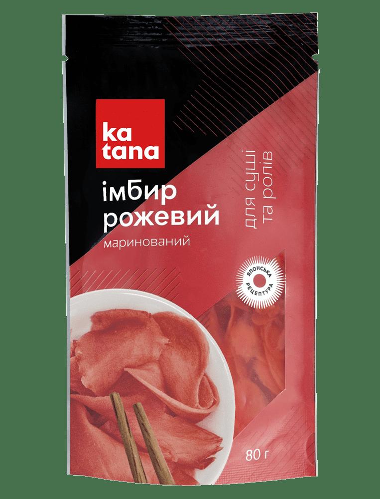 розовый имбирь 80 katana