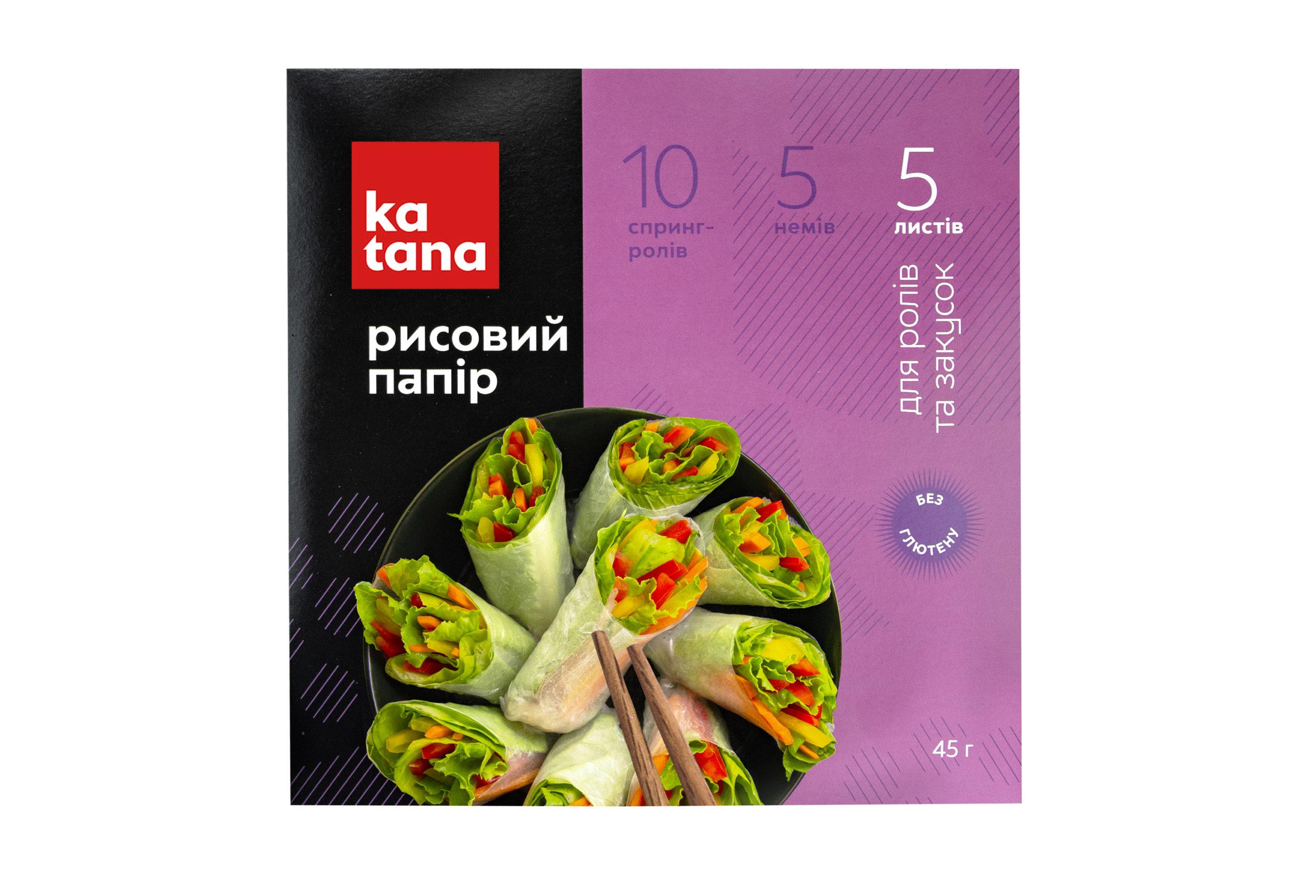 Рисовая бумага Катана