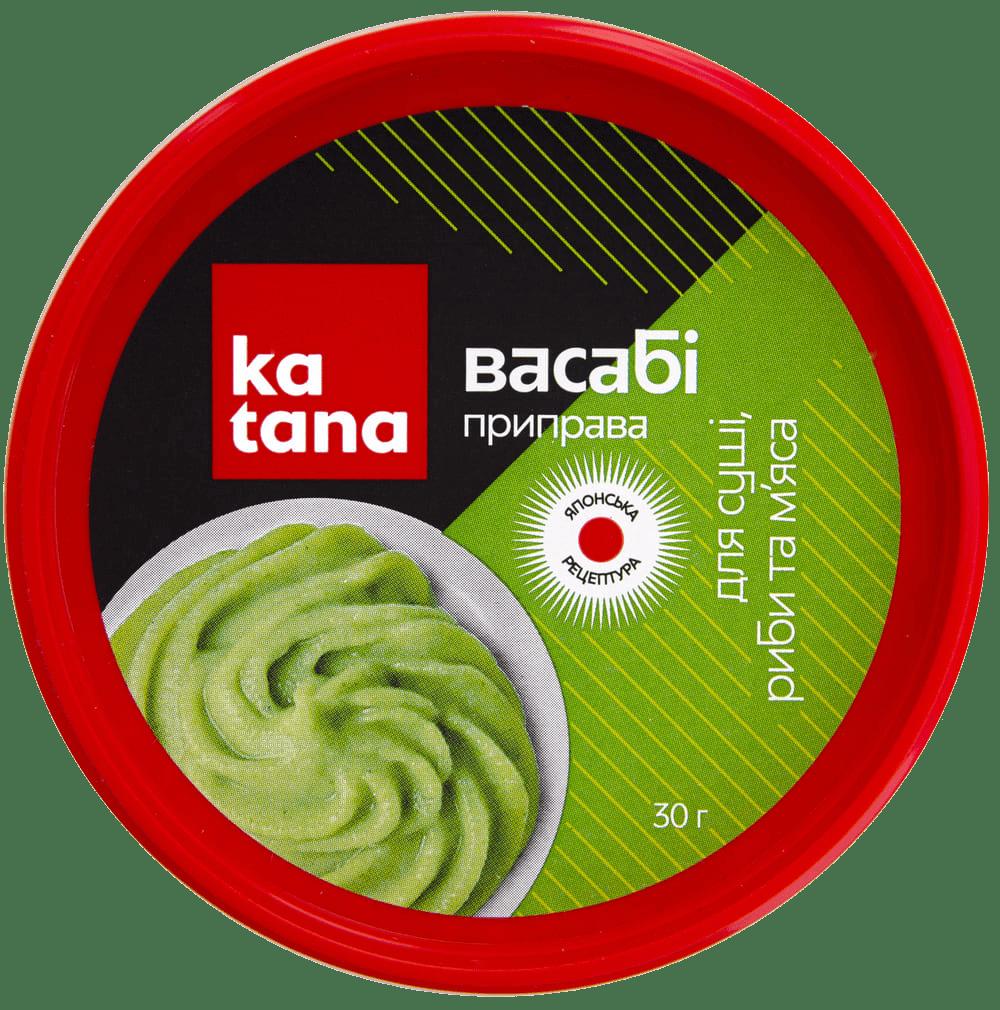 приправа васаби katana