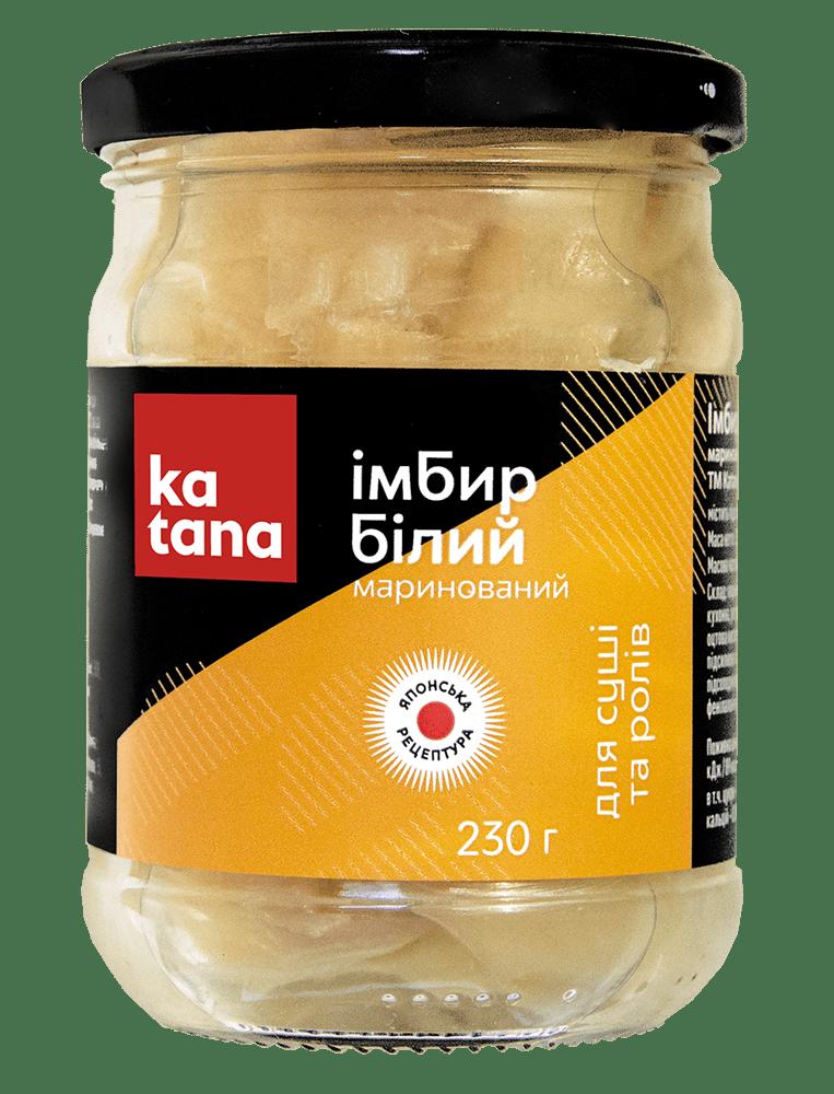 белый имбирь katana