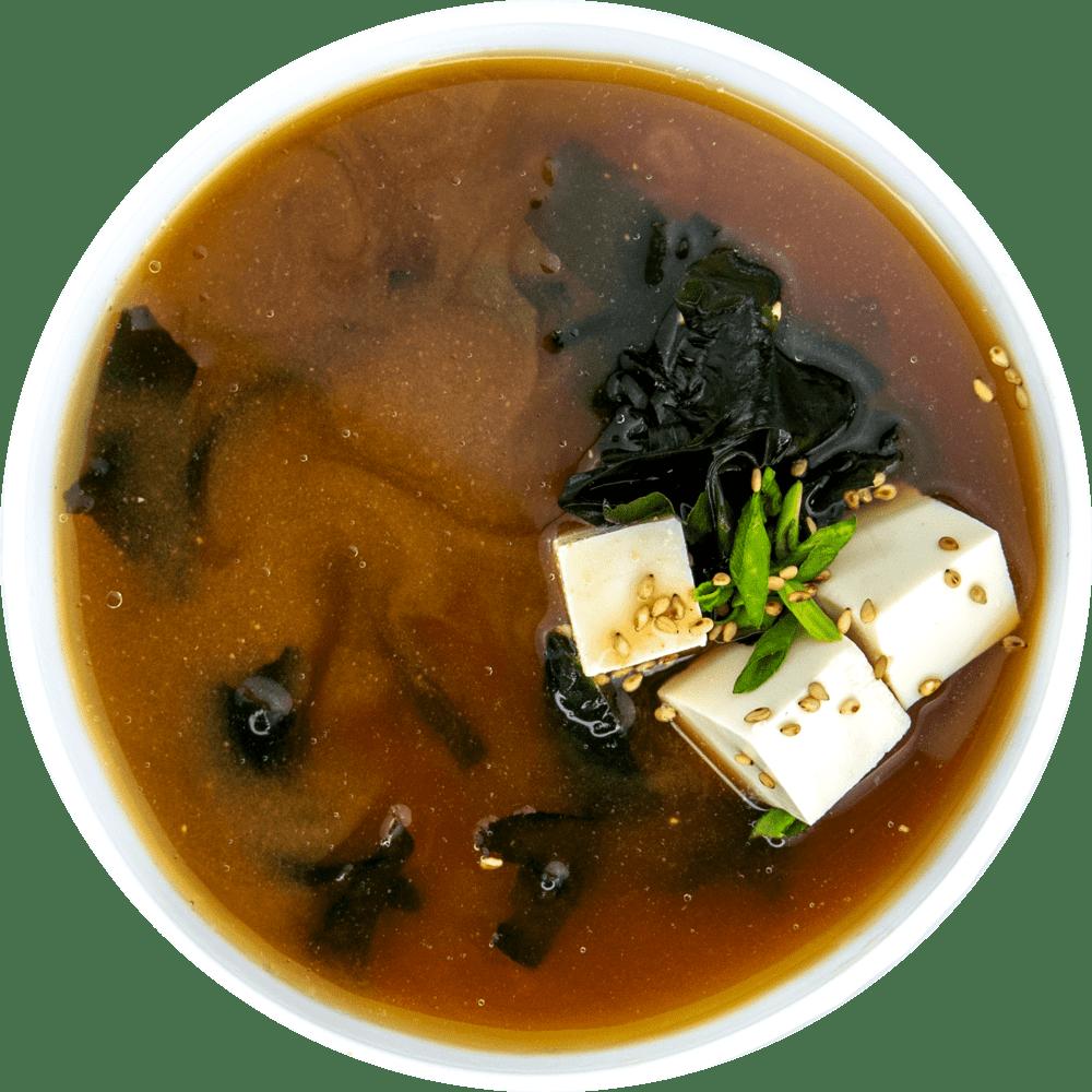 Рецепт мисо-супа с соевым сыром тофу