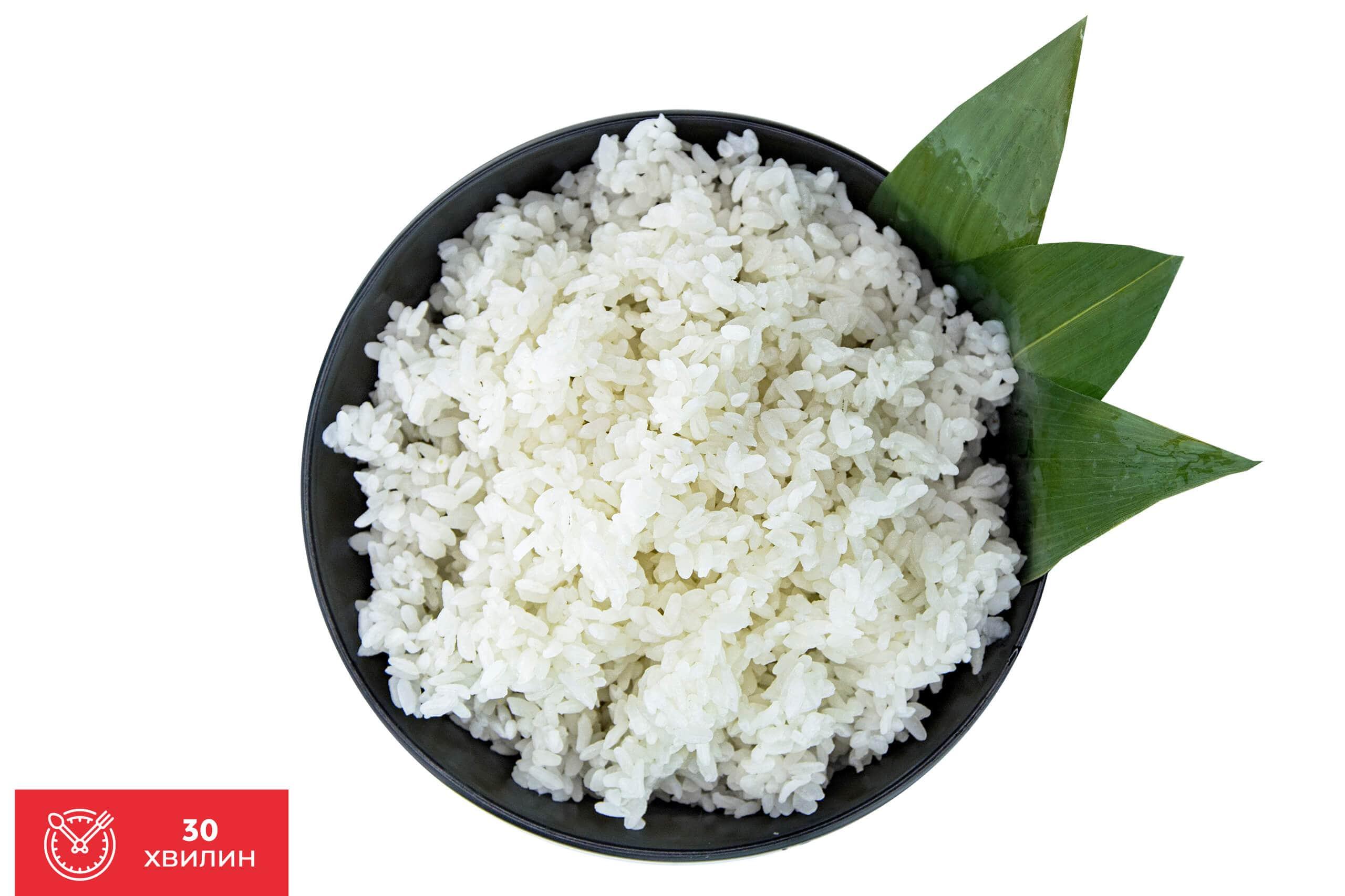 Технологія приготування рису для суші