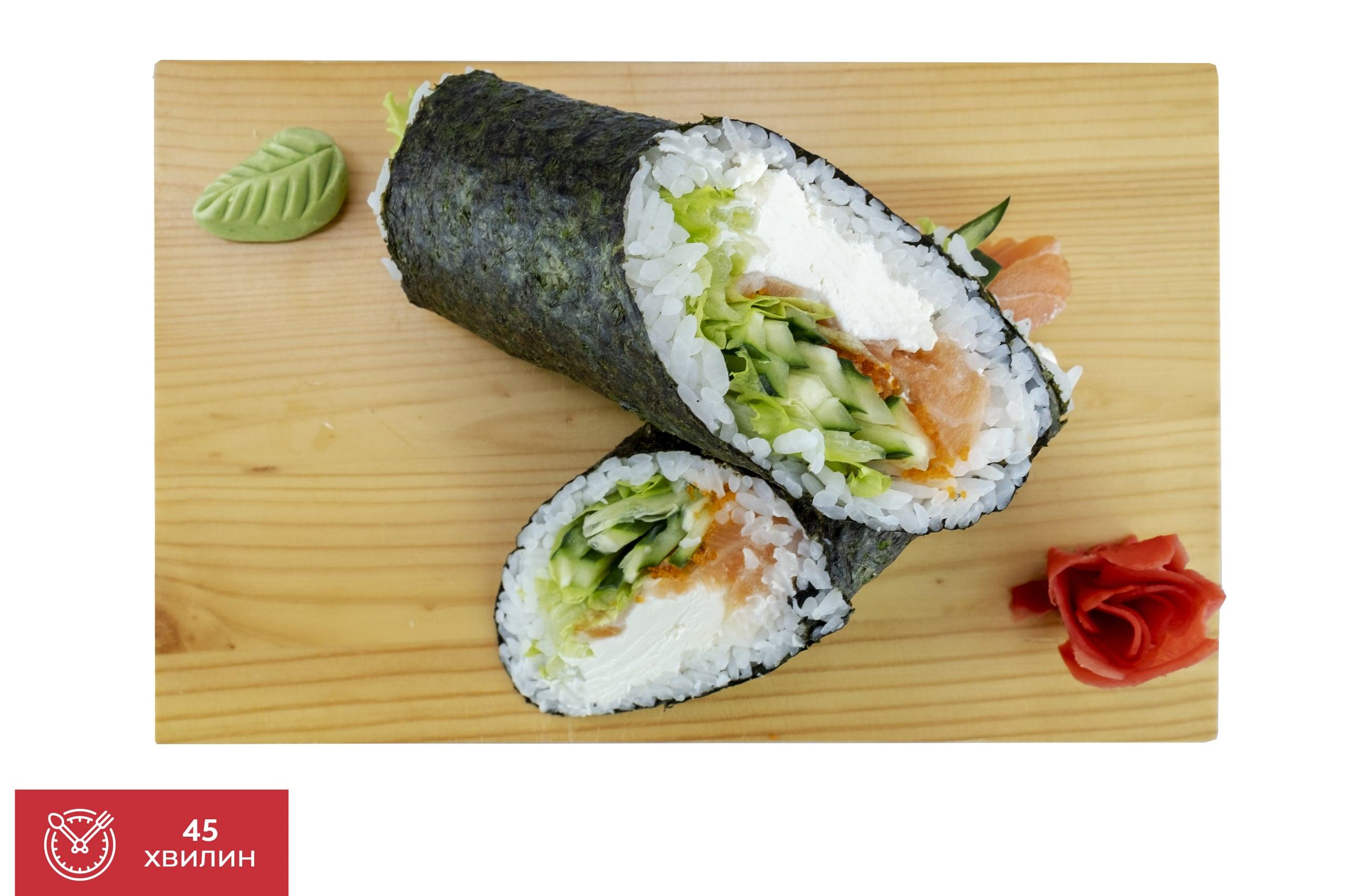 Рецепт суші буріто від Катана