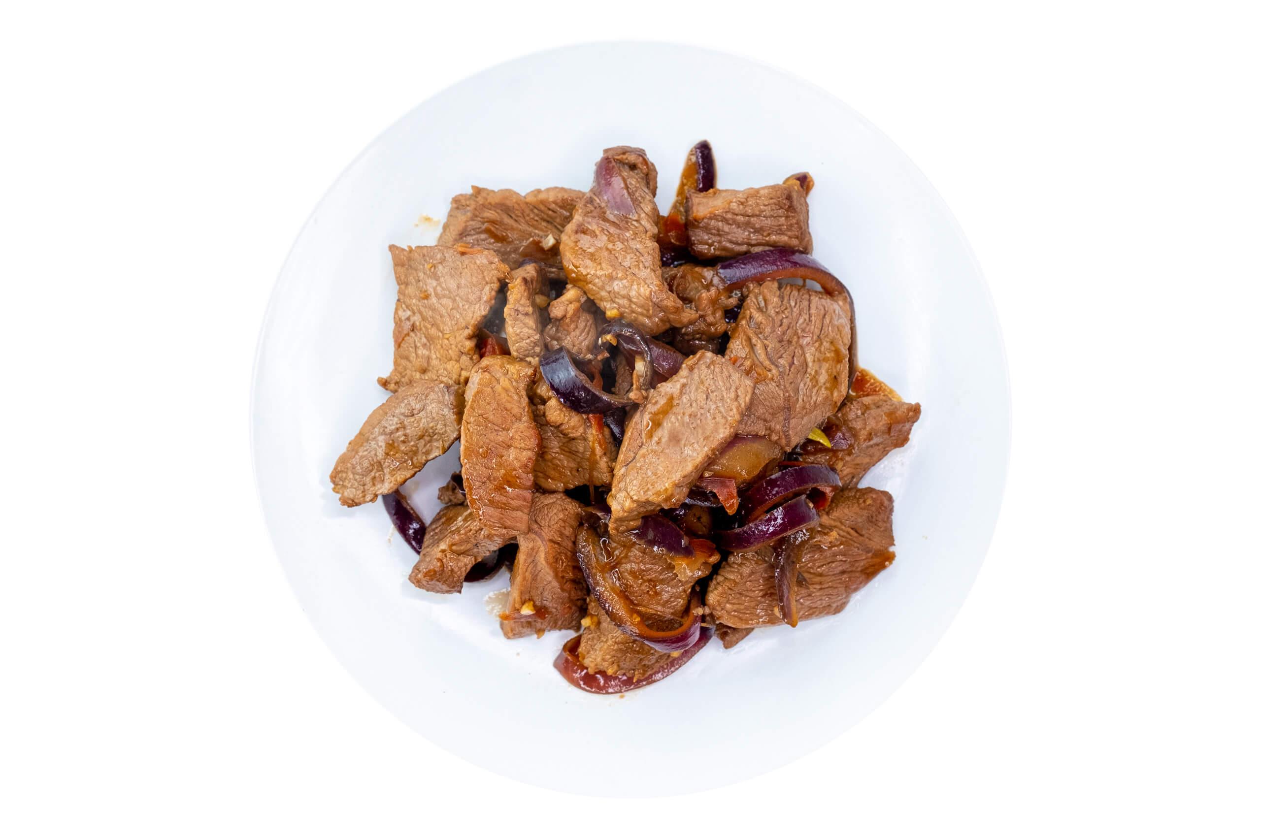 Рецепт тушкованої яловичини з маринованим імбиром