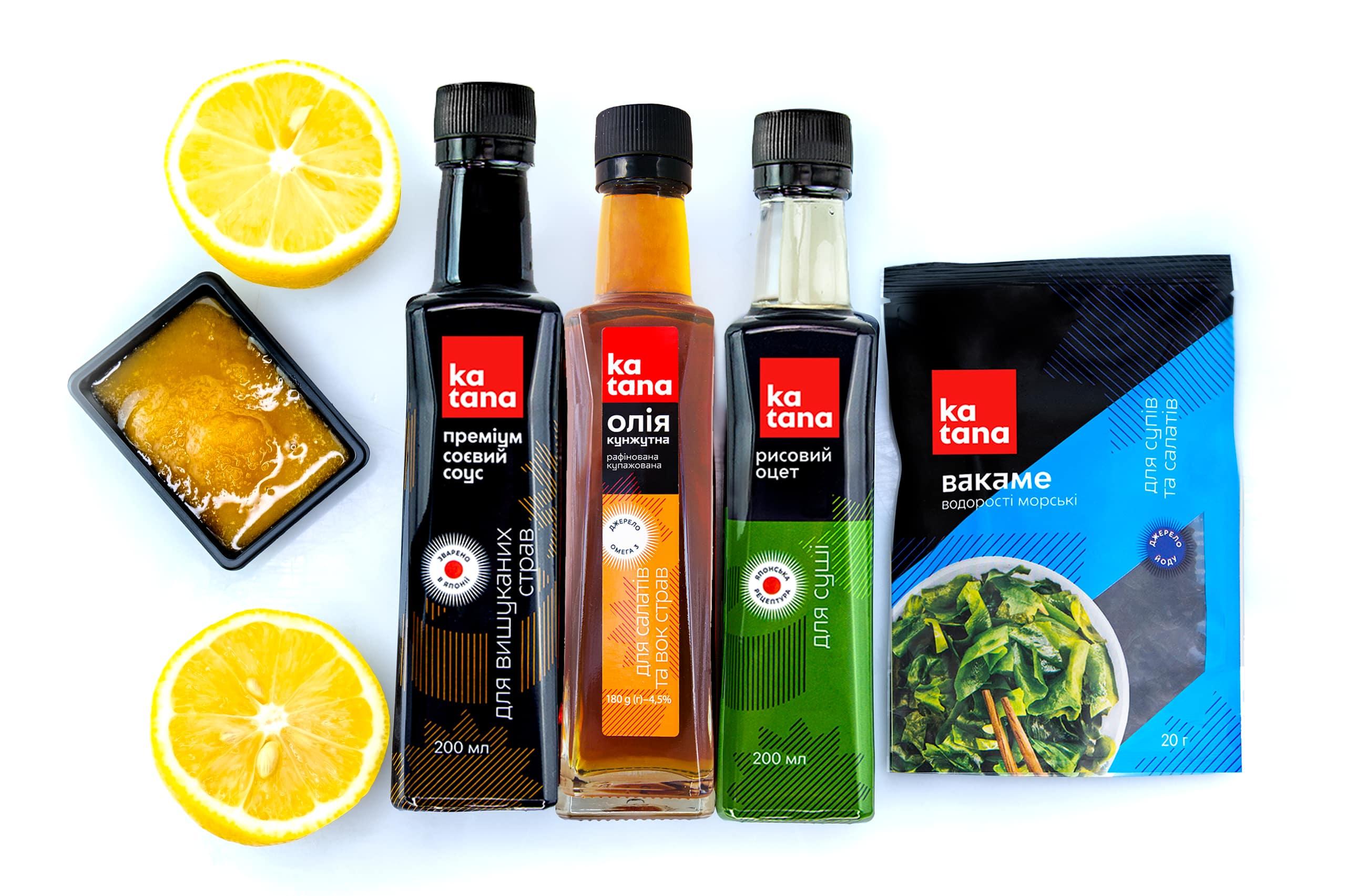 Інгредієнти Katana для салату Вакаме
