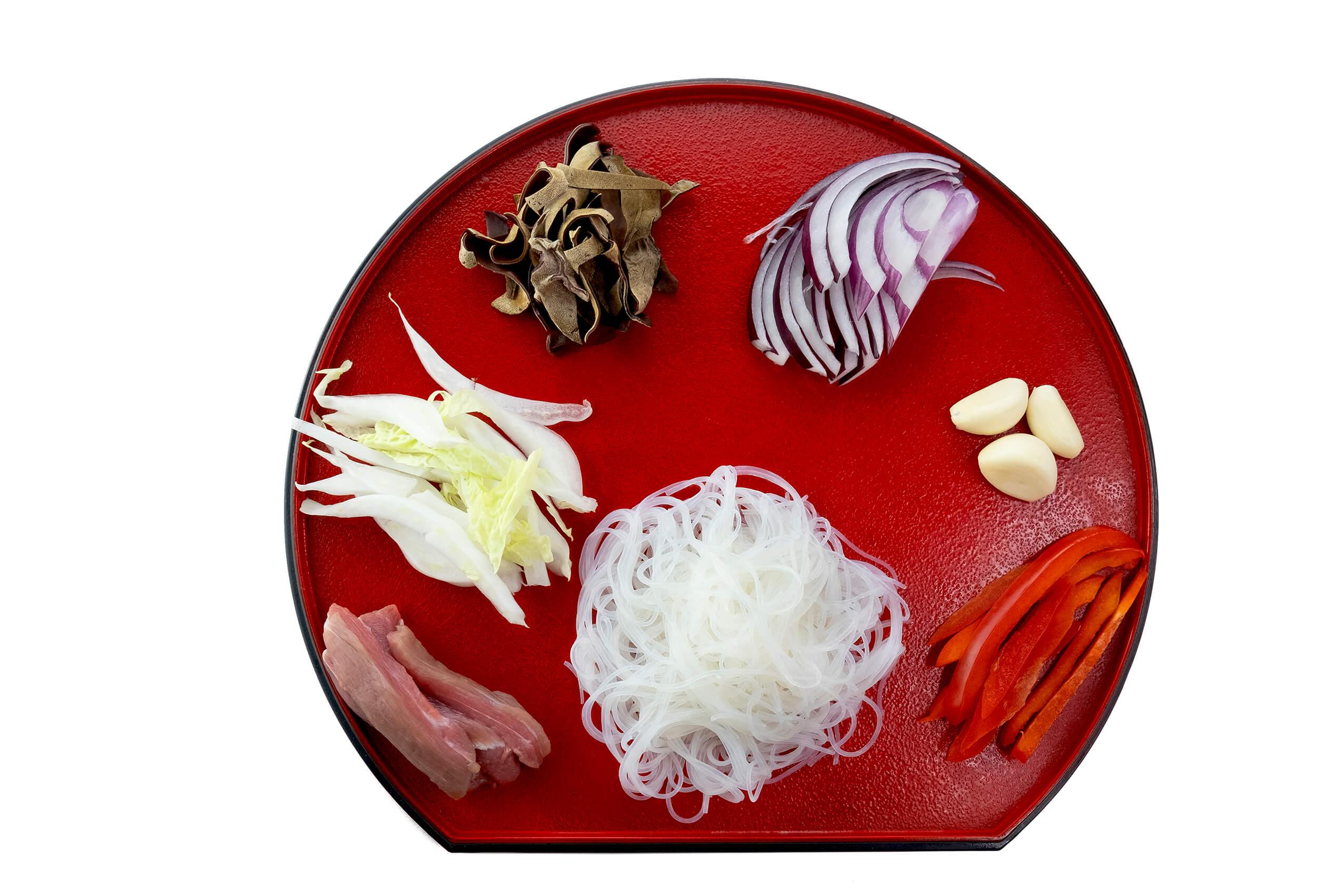 Приготування фунчози з яловичиною та овочами