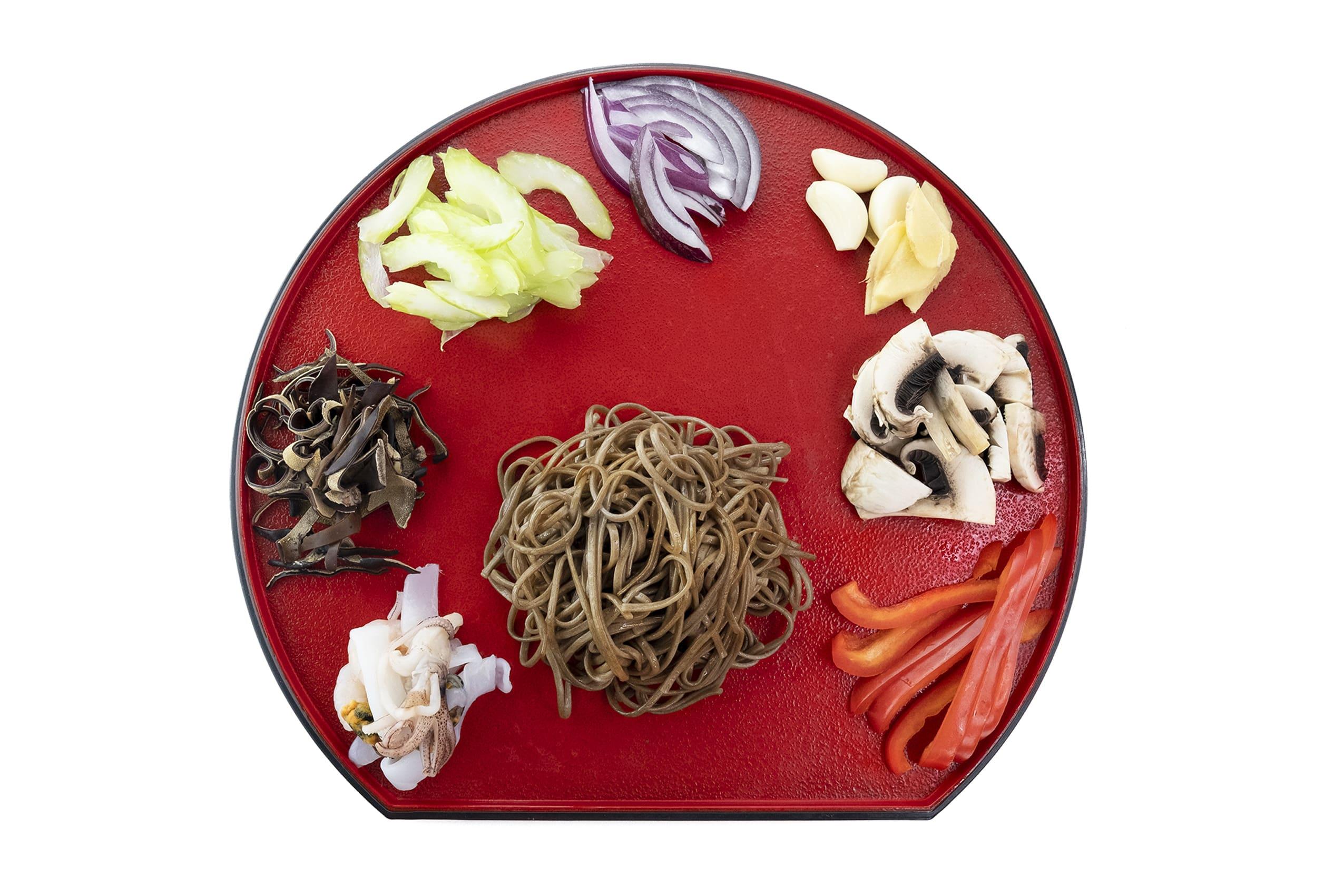 Приготування соби з морепродуктами рецепт Katana