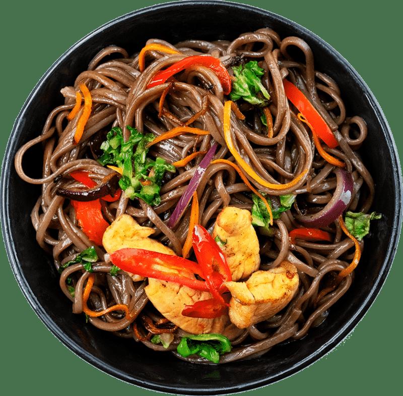 Рецепт локшини Якісоба з куркою